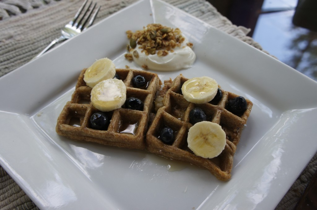 Summer Weekends and Healthy Waffles - The Other Big O
