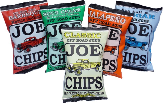 Off Road Joe's Kettle Chips