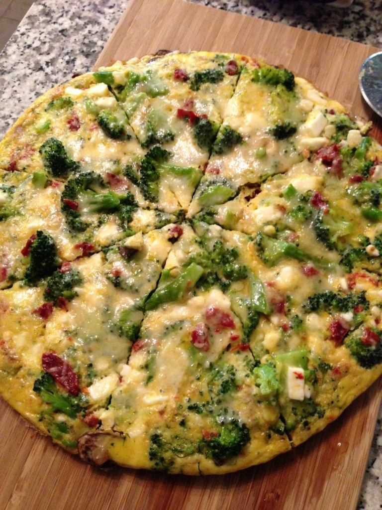 Broccoli Mush Frittata