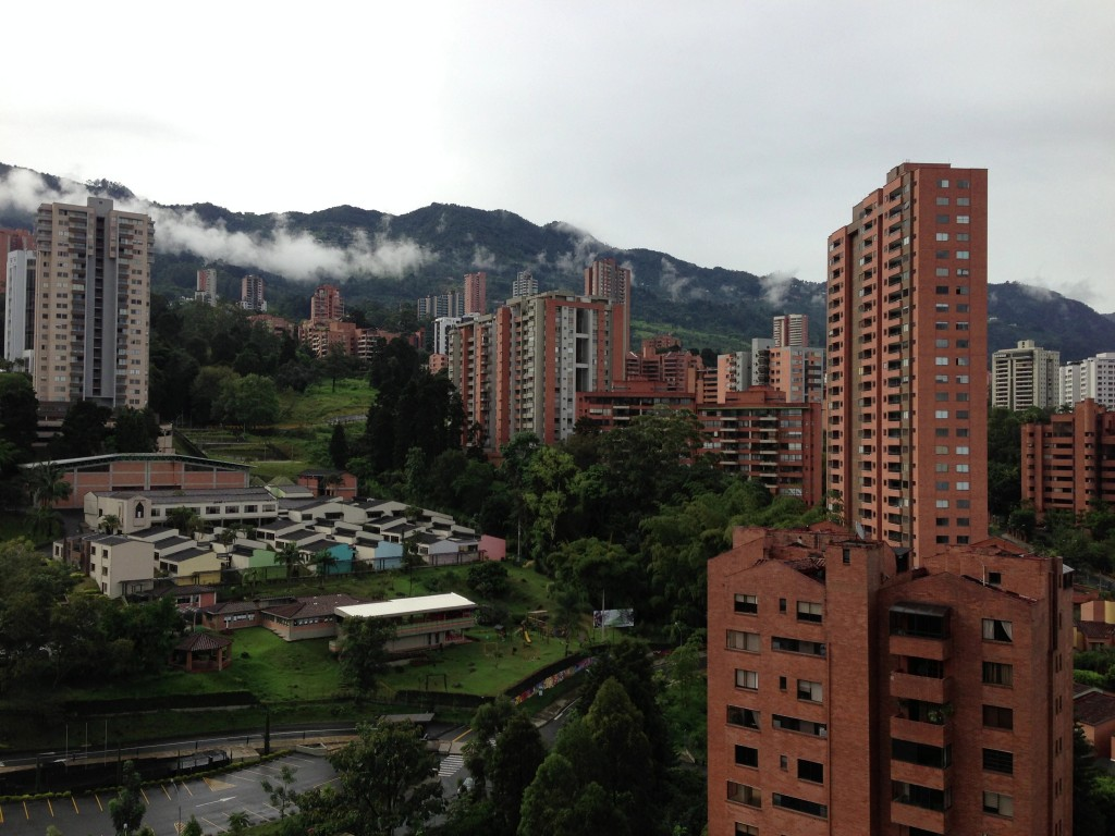 View from condo in Medellin