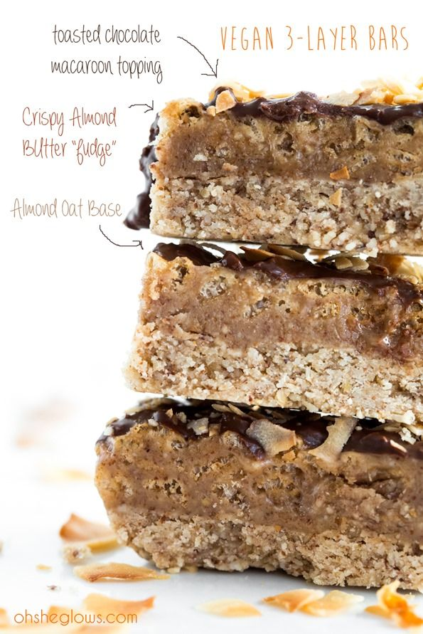 almond coconut chocolate bars