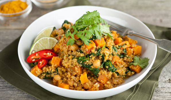 Quinoa Curry