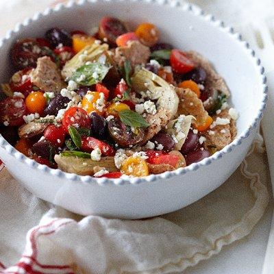 middle eastern supper salad